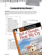 Roll of Thunder, Hear My Cry Studying the Story Elements (Great Works Series)