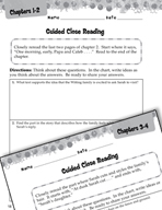Sarah, Plain and Tall Close Reading and Text-Dependent Questions (Great Works Series)