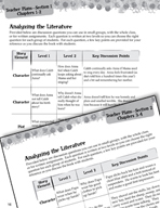 Sarah, Plain and Tall Leveled Comprehension Questions (Great Works Series)