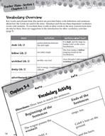 Sarah, Plain and Tall Vocabulary Activities (Great Works Series)