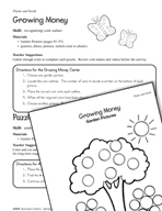 Seasonal Learning Centers - Plants and Seeds