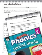 Second Grade Foundational Phonics Skills: Long Vowel Spelling Patterns