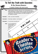Socrates Reader's Theater Script and Lesson