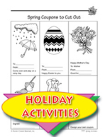 Spring Coupons and Clip Art for Spring