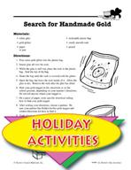 St. Patrick's Day Activities - Leprechaun Marionette and Other Art Activities