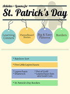 St. Patrick's Day Activities, Patterns, and Stories for Gr