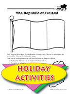 St. Patrick's Day Activities - The Republic of Ireland History