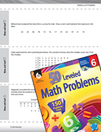 Statistics and Probability Leveled Problems: Stem-and-Leaf