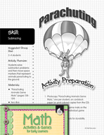 Subtracting - Parachuting Game