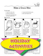 Summertime Activities - Making Things From Nature