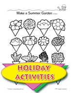 Summertime Activities - Watching a Creature and Other Themed Activities