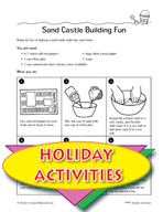 Summertime Picture Frame and Other Themed Activities