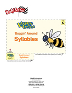Syllables - Buggin' Around Literacy Center