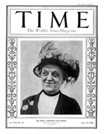 TIME Magazine Biography - Carrie Chapman Catt