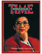 TIME Magazine Biography - Corazon Aquino