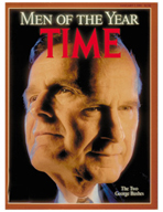 TIME Magazine Biography - George H. W. Bush