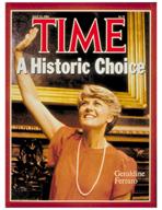 TIME Magazine Biography - Geraldine Ferraro
