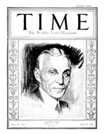 TIME Magazine Biography - Henry Ford