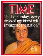 TIME Magazine Biography - Indira Gandhi