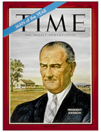 TIME Magazine Biography - Lyndon B. Johnson