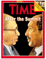 TIME Magazine Biography - Menachem Begin and Anwar Sadat