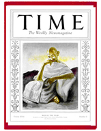 TIME Magazine Biography - Mohandas Gandhi