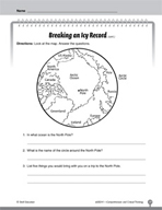 Test Prep Level 1: Breaking an Icy Record Comprehension and Critical Thinking