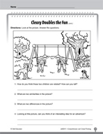 Test Prep Level 1: Cleary Doubles the Fun Comprehension and Critical Thinking