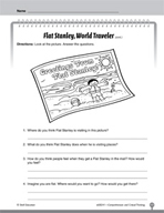 Test Prep Level 1: Flat Stanley Comprehension and Critical Thinking