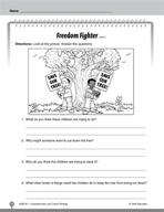 Test Prep Level 1: Freedom Fighter Comprehension and Critical Thinking