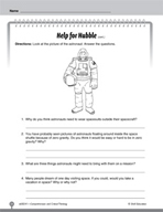 Test Prep Level 1: Help for Hubble Comprehension and Critical Thinking