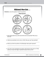 Test Prep Level 2: Alabama's New Coin Comprehension and Critical Thinking