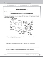 Test Prep Level 2: Alien Invasion Comprehension and Critical Thinking