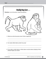 Test Prep Level 2: Daddy Day Care Comprehension and Critical Thinking