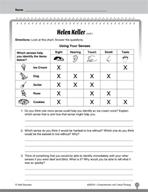 Test Prep Level 2: Helen Keller Comprehension and Critical