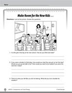 Test Prep Level 2: Make Room for New Kids Comprehension an