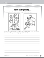 Test Prep Level 2: The Art of Storytelling Comprehension and Critical Thinking