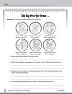 Test Prep Level 2: The Big Prize for Peace Comprehension and Critical Thinking