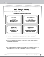 Test Prep Level 2: Walk Through History Comprehension and Critical Thinking