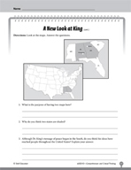 Test Prep Level 3: A New Look at King Comprehension and Critical Thinking