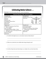 Test Prep Level 3: Celebrating Cultures Comprehension and Critical Thinking