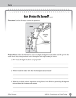 Test Prep Level 4: Can Venice Be Saved? Comprehension and Critical Thinking