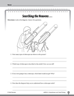 Test Prep Level 4: Searching the Heavens Comprehension and Critical Thinking