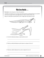 Test Prep Level 4: This Croc Rocks Comprehension and Critical Thinking
