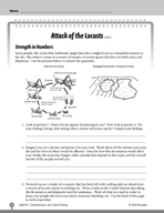 Test Prep Level 5: Attack of the Locusts Comprehension and Critical Thinking