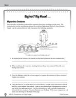 Test Prep Level 5: Bigfoot? Big Hoax! Comprehension and Cr