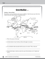 Test Prep Level 5: Green Machine Comprehension and Critical Thinking