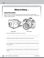 Test Prep Level 5: Witness to History Comprehension and Critical Thinking