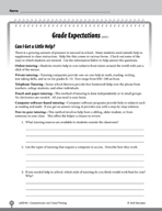 Test Prep Level 6: Grade Expectations Comprehension and Critical Thinking