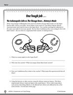 Test Prep Level 6: One Tough Job Comprehension and Critica